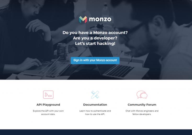 Monzo OAuth integration